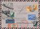 Zeppelinpost Deutschland: 1912/1945 (ca): Posten Mit über 90 Teils Sehr Raren Zeppelin-Belegen, Indi - Poste Aérienne