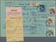 Europa: 1873/1968, Holding Of About 120 Letters, Cards, Parcel Cards And Used Postal Stationery, Inc - Europe (Other)