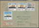 Deutschland Nach 1945: 1965/2005 (ca.), Bestand Von Ca. 1.000 Meist Modernen Bedarfsbriefen Bund/Ber - Duitsland