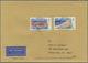 Bundesrepublik Deutschland: 1956/1997, Post Nach Übersee, Vielseitige Partie Von Ca. 68 Briefen Und - Deutschland