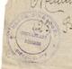 CACHET PLACE D'ARME D'ORANGEA DIEGO SUAREZ / MADAGASCAR   B1097 - Postmark Collection (Covers)
