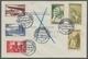Saarland (1947/56) - Besonderheiten: NEUNKIRCHEN (SAAR) 1 K 27.12.55, Sauber Auf Frankiertem R-Brief - 1947-56 Occupazione Alleata