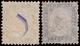 Used ) REGNO D'ITALIA 1862 | Insieme Formato Da Un 10c. Bistro Arancio E Un 20c. Indaco. L'esemplare Da 20c. - Italy