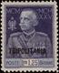 """MH ) TRIPOLITANIA 1926   """"Giubileo Del Re"""". 1,25 Lire Azzurro D. 11      Provenienza   Collezione Romano Padoan   - Tripolitaine"""