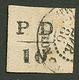 ST PIERRE ET MIQUELON - Emission Provisoire : 10c (n°16A) Obl. MIQUELON. Cote 1800€. Certificat TILLARD (2007). TTB. - Francia (antiguas Colonias Y Protectorados)