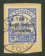 TOGO - ANGLO FRENCH OCCUPATION : 20pf (n°35a) Variété TOG Au Lieu De TOGO Obl. LOME 4-10-14 Sur Fragment. Cote 9500€. Ti - Frankrijk (oude Kolonies En Protectoraten)