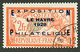 EXPOSITION LE HAVRE 1929 - 2F (n°257A) Obl. Cote 875€. Signé SCHELLER. Superbe. - France