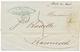"""""""GUERRE De CRIMEE - Tarif Intérieur"""" : 1856 """"BOITE DU BORD"""" Manuscrit + Taxe 5 + KAMIESH CRIMEE 16 Juin 56 Sur Lettre Av - Postmark Collection (Covers)"""