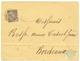 GUYANE - COLONIES GENERALES Avec Oblitération BRITISH GUIANA : 1887 CG 25c Obl. GEORGETOWN BRITISH GUIANA Sur Enveloppe  - Französisch-Guayana (1886-1949)