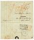 """""""ST MARTIN"""" : 1843 GLASGOW + PAID Sur Lettre Avec Texte Daté """"FRENCH MARTIN"""" Pour GLASGOW Redirigé à LONDRES. Verso, Tra - Sin Clasificación"""