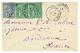 """""""GRAND ANSE"""" : 1885 CG 5c (x2) + 15c Obl. MARTINIQUE GRAND ANSE Sur Enveloppe Pour La FRANCE. TB. - Martinique (1886-1947)"""