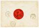 "DANISH WEST INDIES : 1857 ""8"" Tax Marking On Envelope From MARTINIQUE To ""GOUVERNEUR De STE CROIX"". Verso, British Cds M - Deens West-Indië"