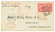 ITALY To NOVA SCOTIA : 1870 40c (x2) Canc. 19 + NAPOLI On Envelope To ARICHAT (NOVA SCOTIA). Verso, Superb Arrival Cds A - Italy