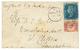 1876 1 / 2d + 2d Canc. A25 + MALTA On Envelope To ENGLAND. Vvf. - Malta