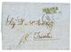 ROMANIA - AUSTRIAN P.O. : 1851 IBRAILA/ DEC.18 On Entire Letter To TRIESTE. Vvf. - Romania