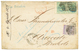 """""""STRAITS SETTLEMENTS To BRAZIL"""" : 1875 6c + 24c (x2) + SINGAPORE PAID + SINGAPORE UNPAID On Envelope Via WELTEVREDEN (NE - Singapur (...-1959)"""