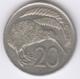 NEW ZEALAND 1976: 20 Cents, KM 36 - New Zealand