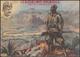 """CARTOLINA COLONIALE. LX Battaglione Coloniale """"Proteso Alle Gloriose Mete"""". Al Retro Elenco Delle Battaglie Del 1939. A  - Italy"""
