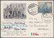 1963 SPEDIZIONE ITALIANA  ANDE PATAGONIA. Cartolina Spedita In Data 9.2.1963 Da Torre Del Paine Per Vercelli  Con Le Fir - Chili