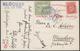 SPITZBERGEN - POLAR POST. Cartolina Spedita Per Monaco Di Baviera  Il 19/7/1909 Ed Affrancata Con Francobollo Norvegese  - Norwegen