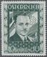 """Österreich: 1936, 10 Schilling Freimarke """"Bundeskanzler Dr. Engelbert Dollfuß"""". Diese Marke Wurde Im - 1850-1918 Imperium"""