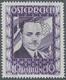 """Österreich: 1936, 10 Schilling Freimarke """"Bundeskanzler Dr. Engelbert Dollfuß"""". Diese Marke Wurde Im - Covers & Documents"""