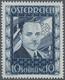 """Österreich: 1936, 10 Schilling Freimarke """"Bundeskanzler Dr. Engelbert Dollfuß"""". Diese Marke Wurde Im - Lettres & Documents"""