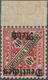 """Deutsches Reich - Dienstmarken: 1920, 40 Pfg. Württemberg """"Amtlicher Verkehr"""" Mit Kopfstehendem Aufd - Dienstzegels"""