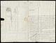 1851 - Urbano Rattazzi - Lettera Manoscritta Autografa E Firmata, Da Casale 7 Maggio 1851 A Torino, ... - Autografi