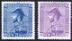 1927 2s & 3s Admirals M, SG.269/70. Cat. £205. (2) - Non Classificati