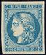 * No 46B, Bleu, Très Frais. - TB. - R - 1870 Ausgabe Bordeaux