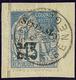 No 6, Sur Petit Fragment. - TB - Senegal (1887-1944)