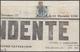"""DITTATURA. Francobollo Da 1/2 Tornese Azzurro Applicato Su Gran Parte Della Prima Pagina Del Giornale """"L'Indipendente"""" D - Naples"""
