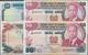 Kenya / Kenia: Central Bank Of Kenya Set With 4 Banknotes 20 Shillings 1989 P.25b (VF+/XF), 50 Shill - Kenya
