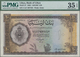 Libya / Libyen: Bank Of Libya 10 Pounds 1963, P.27, Great Original Shape With Bright Colors, PMG Gra - Libya