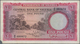 Nigeria: Federation Of Nigeria Pair With 5 Shillings 1958 P.2 (VF+) And 1 Pound 1958 P.4 (F, Missing - Nigeria