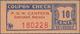 United States Of America: POW Canteen Scottsbluff, Nebraska 10 Cents ND(1944-46), C.NL In UNC Condit - Estados Unidos
