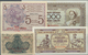 Yugoslavia / Jugoslavien: Set Of 11 Notes Containing The Following Notes: Croatia 1, 5, 10 & 20 Dina - Jugoslawien