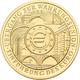 Deutschland - Anlagegold: 100 Euro 2002 Währungsunion (J), In Originalkapsel Und Etui, Mit Zertifika - Duitsland