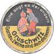Varia, Sonstiges: Gruschwitz: Kapselgeld: 10 Pfennig Ziffermarke (oliv). Gruschwitz - Garne U. Zwirn - Zonder Classificatie