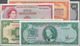 Alle Welt: Huge Lot With 83 Banknotes North- And Central America With 12 Banknotes Jamaica For Examp - Banknoten