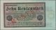 """Deutschland - Deutsches Reich Bis 1945: 10 Rentenmark 1923 Muster, Ro.157M, Roter Überdruck """"Muster"""" - Germany"""