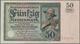 Deutschland - Deutsches Reich Bis 1945: 50 Rentenmark 1925, Ro.162, Sehr Sauberes Papier Mit Einigen - Alemania