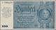 Deutschland - Deutsches Reich Bis 1945: 100 Reichsmark Der Notausgaben 1945 Der Reichsbankstellen Gr - Alemania