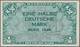 """Deutschland - Bank Deutscher Länder + Bundesrepublik Deutschland: ½ DM 1948 Mit Perforation """"B"""" Für - [ 7] 1949-… : RFD - Rep. Fed. Duitsland"""