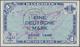 """Deutschland - Bank Deutscher Länder + Bundesrepublik Deutschland: 1 DM 1948 Mit Stempel """"B"""" Für West - [ 7] 1949-… : RFA - Rep. Fed. Tedesca"""
