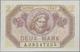 Deutschland - Nebengebiete Deutsches Reich: Saar 2 Mark 1947, Ro.868, Die Seltenste Note Der Serie I - Duitsland