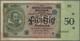 Deutschland - Länderscheine: Württembergische Notenbank 50 Reichsmark 1924, Ro.WTB27, Saubere Gebrau - Germany