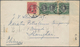 """China - Incoming Mail: 1940, Canada, 5 C. Franking Tied """"QUEBEC JAN 12 40"""" To Cover To Shanghai, Can - China"""