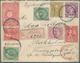 China - Besonderheiten: 1883/96, UPU Koban 1 S. (2), New Koban 3 S., 4 S., 15 S., Silver Wedding 2 S - Chine